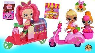 Families Sets ! Baby Shopkins Surprise Blind Bags + Shoppies Doll