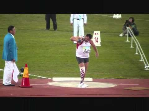 Paraolympic Shot Put Final F .wmv