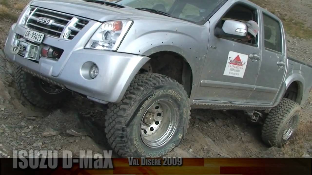 how to get dmax in 4wd