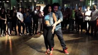 Daniel and Pebbles Bachata Dance at BOS The Union Regents Place London