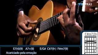 Djavan Meu Bem Querer  Cover Guitar tutorial  Como Tocar Ho to play