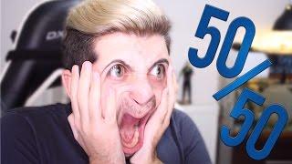 REDD?T 50/50 CHALLENGE!!