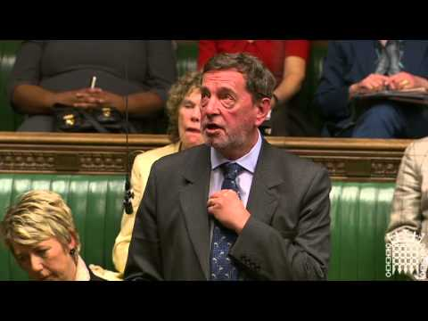 David Blunkett Speaking In The House of Commons On Press Regulation (18th March 2013)
