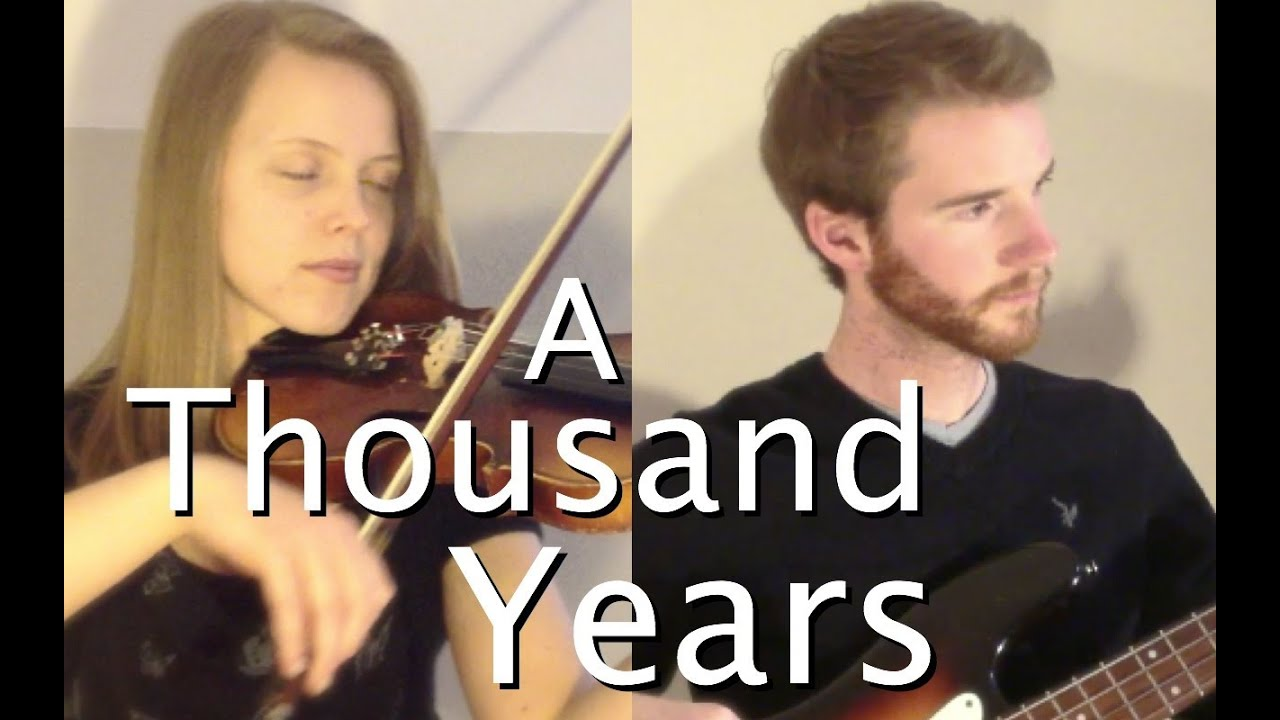 A Thousand Years- Christina Perri (Alicia Groves and Scott ...
