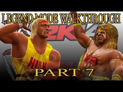 Hulk Hogan Vs Ultimate Warrior - 30 Years Of Wrestlemania Walkthrough Wwe 2k14 Part 7 video