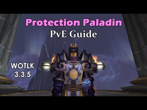 Protection Paladin 3.3.5 PvE Guide