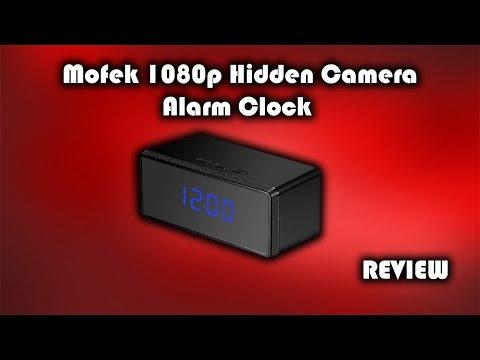 Mofek 1080p Hidden Camera Alarm Clock Review