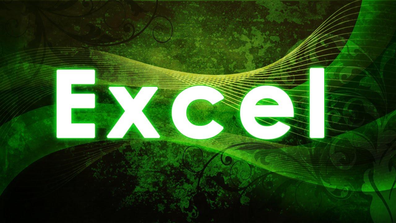 Contabilidad básica con Excel 2010 - YouTube