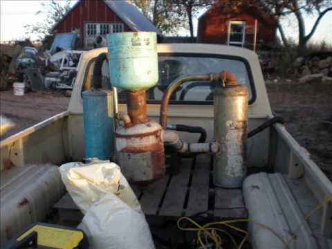 Gasifier Runs Truck Car Three-wheeler pt 2/2 - YouTube