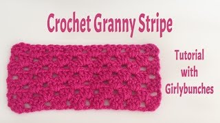 Crochet Basics - Granny Stripe - | Girlybunches
