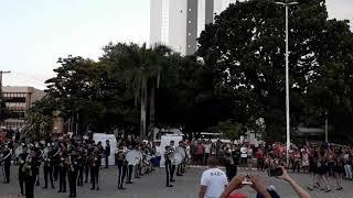 Banda Marcial Esther Virgulino Campeã Do Pré Festival De Bandas
