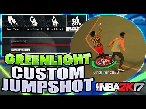 SECRET GREEN LIGHT CUSTOM JUMPSHOT IN NBA2K17 MyPARK! • BEST JUMPSHOT AFTER PATCH FOR ALL ARCHETYPES