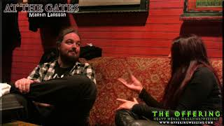 At The Gates interview with Martin Larsson  November 2018