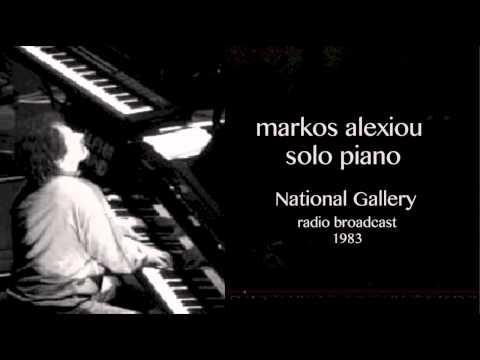 Markos Alexiou Solo Piano National Gallery