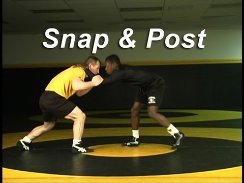 Snap and Post Setup KOLAT.COM Wrestling Techniques Moves Instruction Image 1