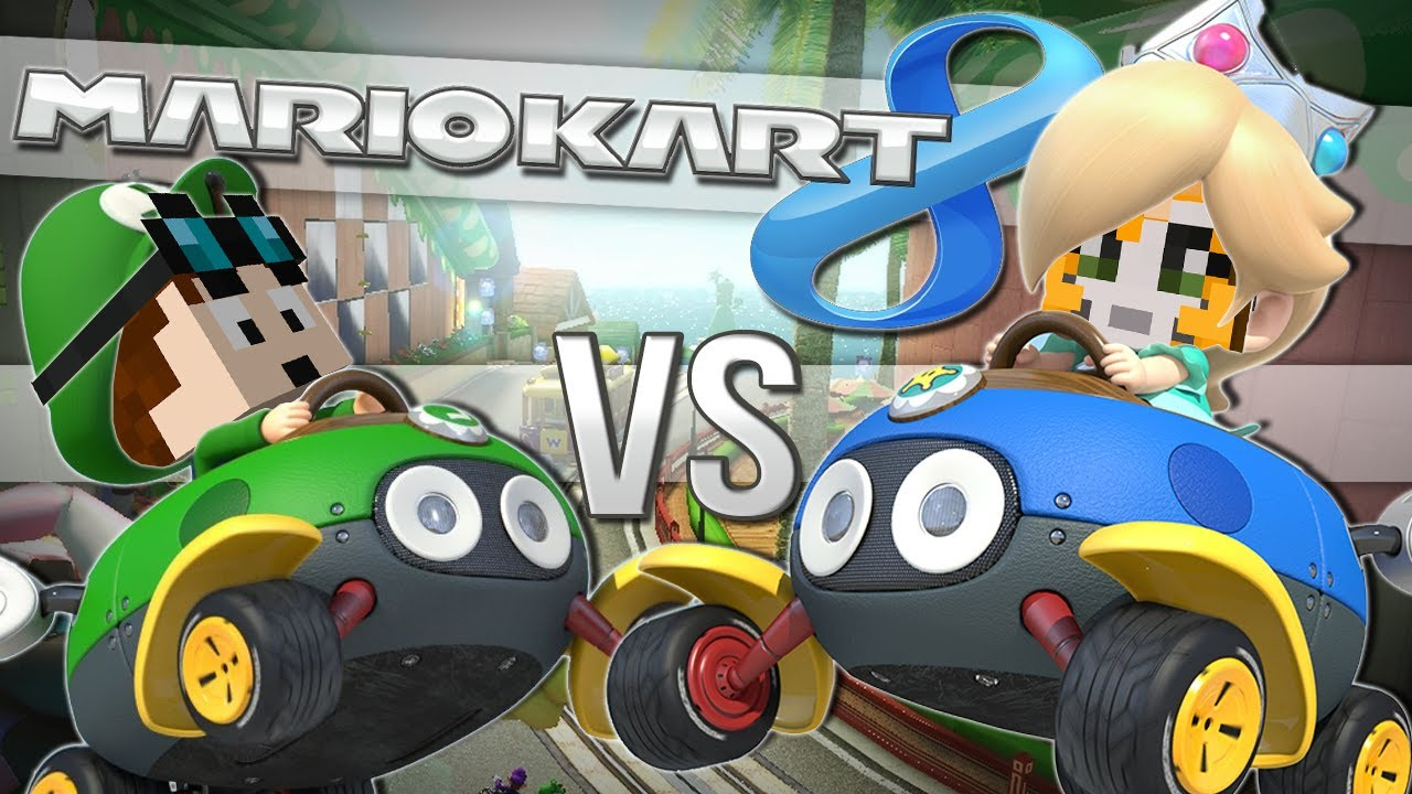 tdm vs stampy mario kart 8 wii u youtube. Black Bedroom Furniture Sets. Home Design Ideas