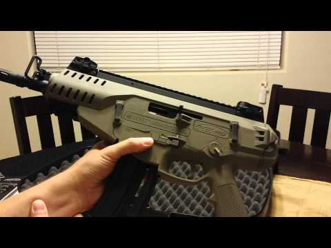 Beretta ARX 160 22lr pistol overview