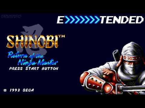 Shinobi III whirlwind EXTENDED ~ 1:30:00 34 ザ スーパー 忍Ⅱ メガドライブ版