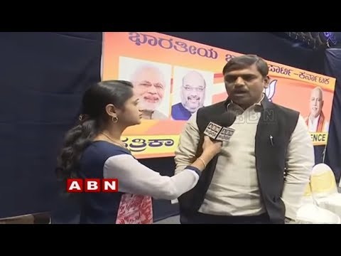 BJP leader Vishnuvardhan Reddy face to face over Karnataka Elections