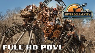 Time Traveler B-Roll and Full Spinning POV Silver Dollar City