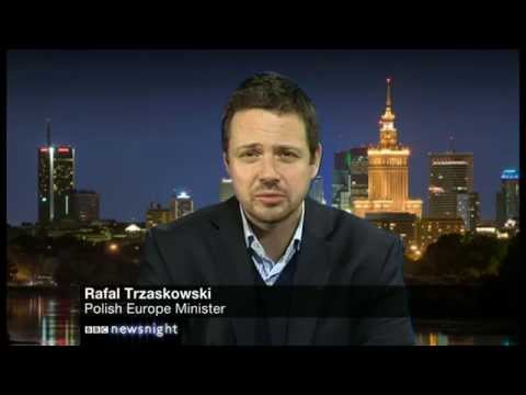Polish Europe Minister: Cameron's EU plans may cross 'red line' - Newsnight