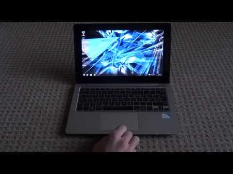 Asus VivoBook X202E  S200E  Q200E SSD hard drive upgrade boot test Windows 8.1