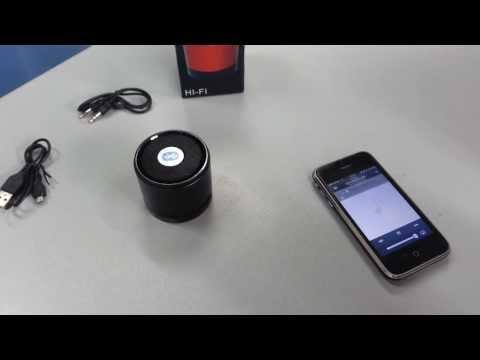 Parlante Portatil Bluetooth / Radio FM / Reproductor MP3 / Lector Mini SD / Micrófono