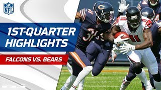 Falcons vs. Bears First-Quarter Highlights | NFL Week 1