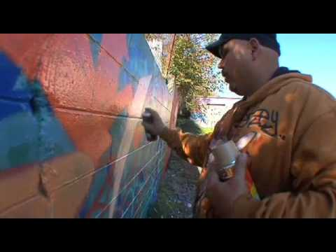 How To Write Graffiti Art Video