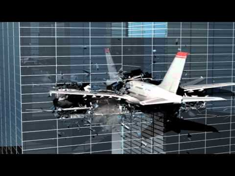 plane crash with 3dmax reactor and fume fx test