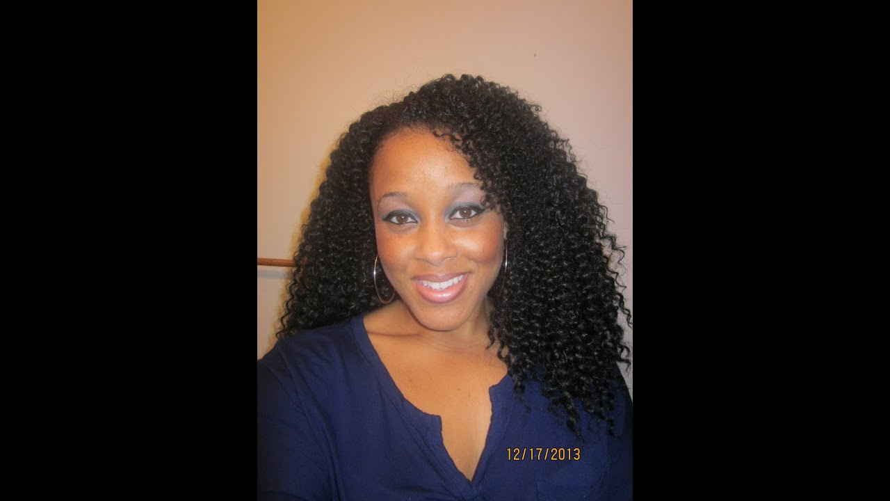 Curly Weave | Equal Freetress Brazilian Curl - YouTube