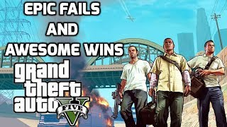 GTA 5 - Epic Stunts and Action Packed Fun Gameplay