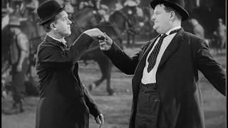 Laurel & Hardy - Dance Routine - Way Out West (1937)