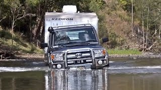 TOYOTA LC70 DUAL CAB OFF ROAD 4X4 TOWING - GALL BOYS AUSTRALIA