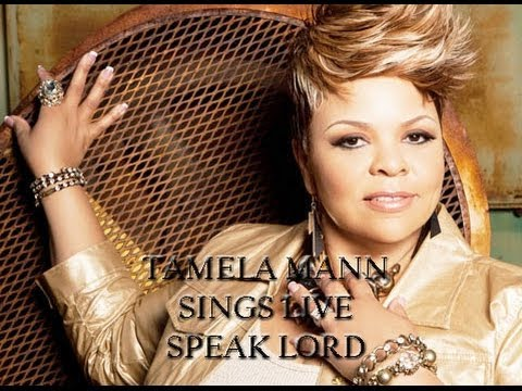 Tamela Mann sings Live on TBN: SPEAK LORD