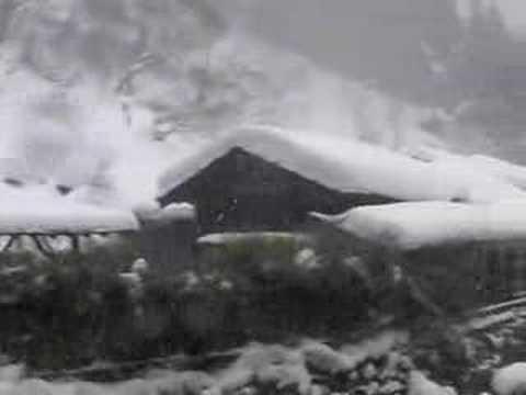 鶴の湯温泉 吹雪