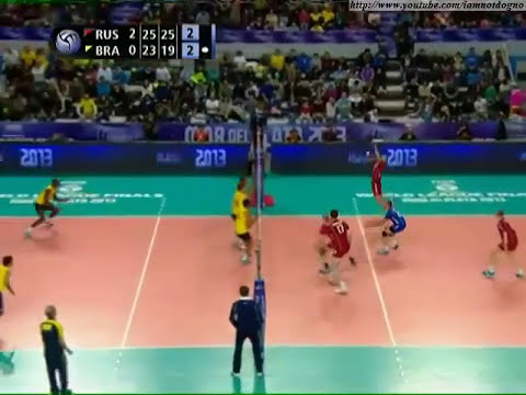 Liga Mundial de Volei Masculino 2013 (final): Russia 3 x 0 Brasil [ FIVB World League ]