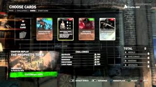 Rise Of the Tomb Raider How to use the Cards Marketplace (spoiler free) Expeditions Mode