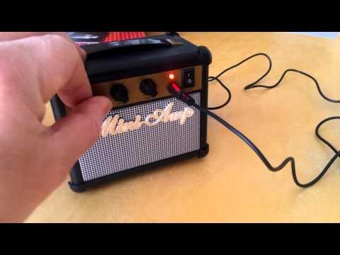 Mini Amp Speaker Overview
