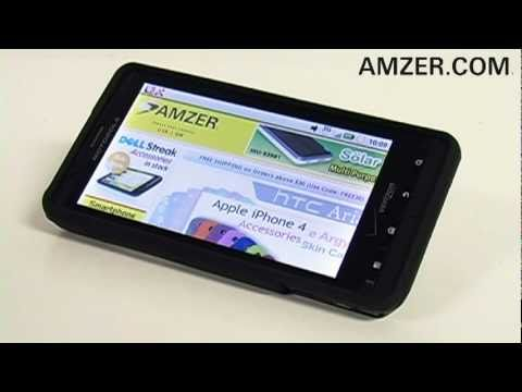 Amzer® Rubberized Snap On Case For Motorola Droid X MB810!