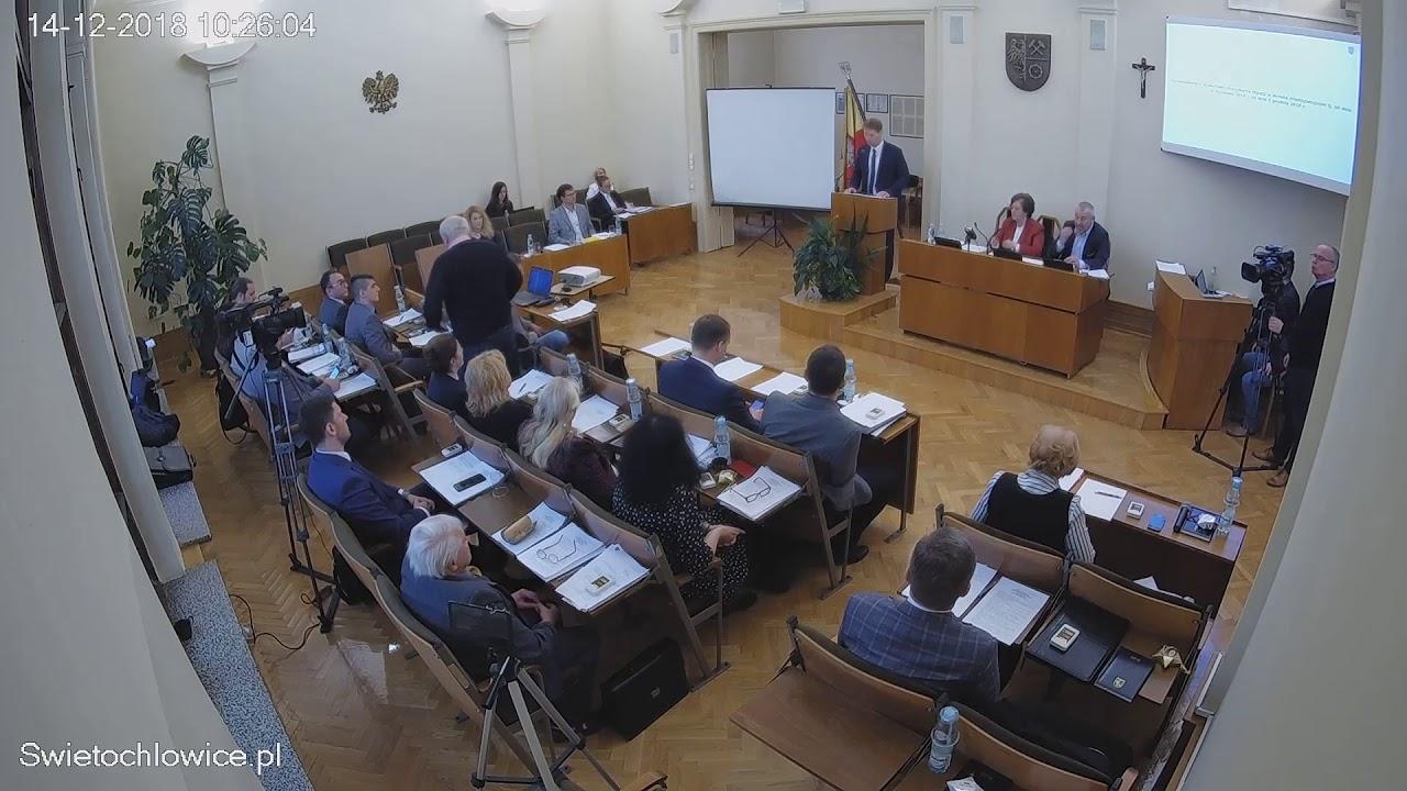 IV sesja Rady Miejskiej 14.12.2018