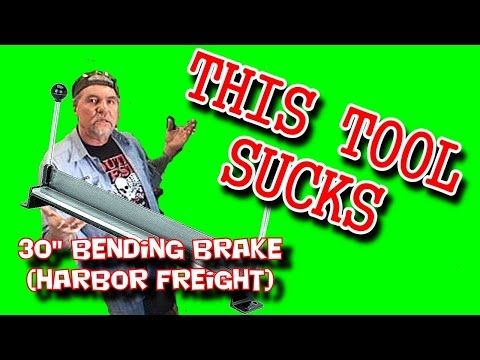 Metal Bending TOOL - Harbor Freight REVIEW - EXTREME FAILURE