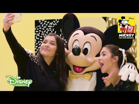 #SoyMuyFan de Mickey Mouse   María y Samara