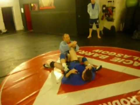 Sambo take down into leg lock Image 1