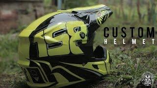 How to Get Painting Standart Helmet into Professional Helmet