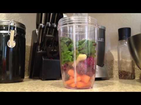 DELICIOUS! Nutribullet Nutri Blast Breakfast Fruit Smoothie #2 Nutri Bullet at Home!