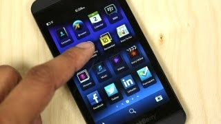 Blackberry Z10 Unboxing (AT&T)