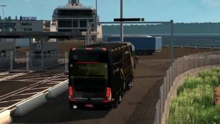 Euro Truck Simulator 2 Bus trip to Poznan with Marcopolo Paradiso G7 1800 DD 8x2