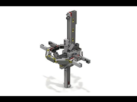 How to Build Lego HALO Micro MAC Cannon