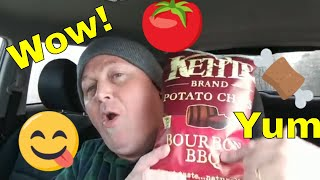 Wombat's reviews : Kettle Brand Chips - Bourbon BBQ flavored